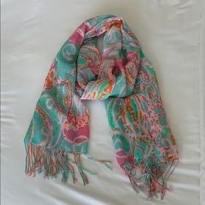 Lilly Pulitzer Jellies Be Jammin scarf
